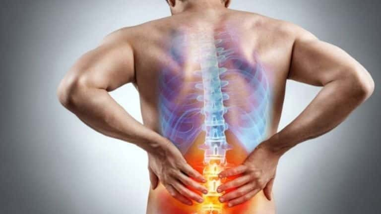 Image depicting lower back pain.